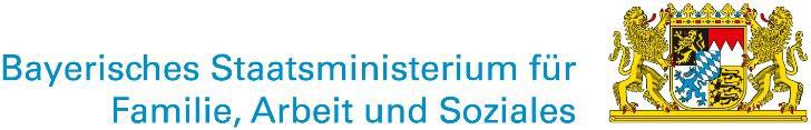 Logo Bayrisches Staatsministerium für Familie, Arbeit und Soziales