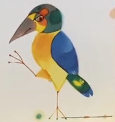 Chamäleonvogel
